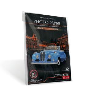 Фотобумага, мелованная, глянцевая, двухсторонняя, A4, 300г/м2, 50 л.