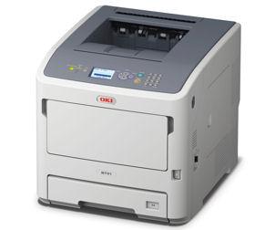 45487102 OKI B731DNW Производительный монохромный принтер формата A4 с беспроводным интерфейсом