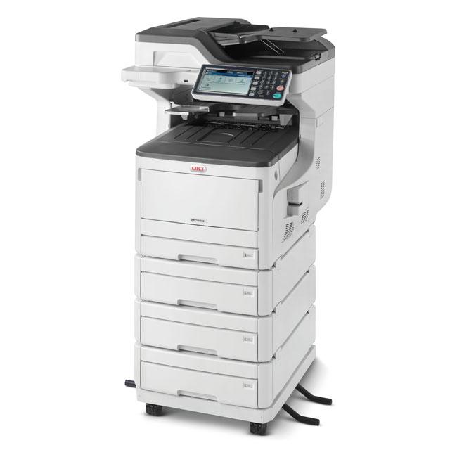 45850602 OKI MC853dnv Цветное МФУ формата A3 для рабочих групп — Печать, Копирование, Сканирова